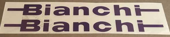 Bianchi Seat Tube Decals - 1 Pair - ChooseColor