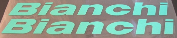 Bianchi Italic Seat Tube Decals - 1 Pair - Select Color