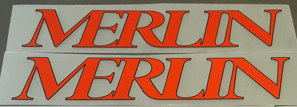 Merlin 1992 Down Tube Decals - 1 Pair - Choose Colors