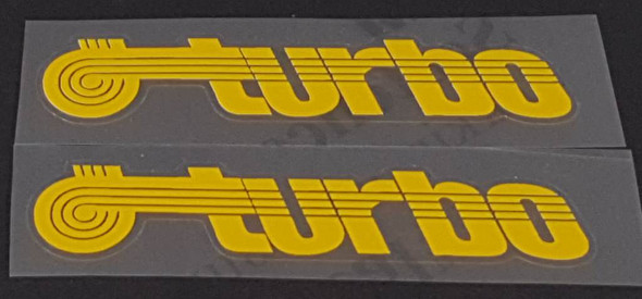 Centurion Turbo Top Tube Decals - 1 Pair - Choose Color