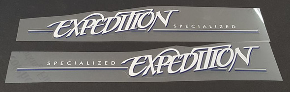 Specialized Expedition Down Tube Decals  - 1 Pair - Choose Colors