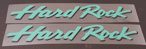 Specialized Hard Rock Down Tube Decals  - 1 Pair - Choose Colors