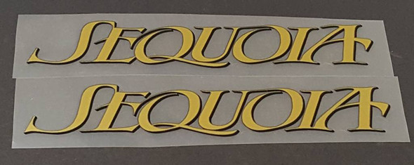 Specialized Sequoia Down Tube Decals  - 1 Pair - Choose Colors