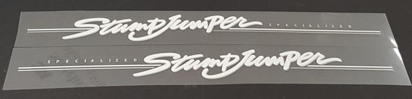 Specialized Stumpjumper Down Tube Decals  - 1 Pair - Choose Colors