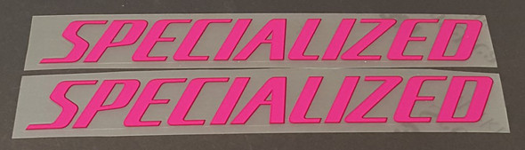Specialized Top Tube Decals  - 1 Pair - Choice of Colors