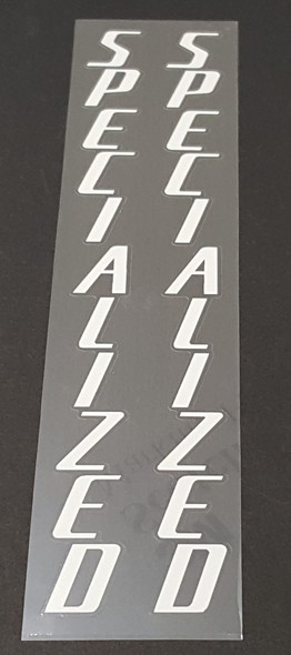 Specialized Large Fork Decals - 1 Pair - Choose Color