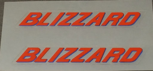 Rocky Mountain BLIZZARD Top Tube Decals - 1 Pair - Choice of Colors