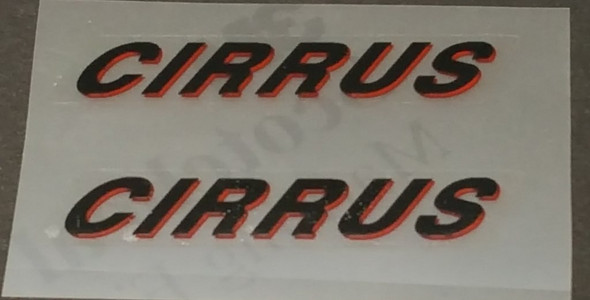 Rocky Mountain CIRRUS Top Tube Decals - 1 Pair - Choice of Colors