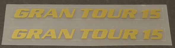 Nishiki Gran Tour 15 Top Tube Decals - 1 Pair - Choice of Color
