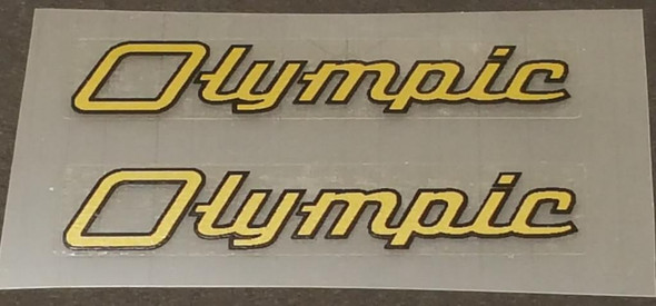 Nishiki Olympic Top Tube Decals - 1 Pair - Choice of Color