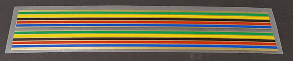 Colnago Down Tube Colored Bands - 1 Pair