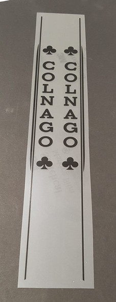 Colnago Master Seat Tube Decals - Choose Color