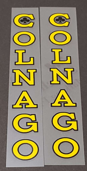 Colnago Super Seat Tube Decals - Many Color Options