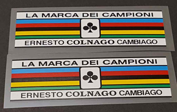 Colnago Seat Tube Colored Bands - 1 Pair
