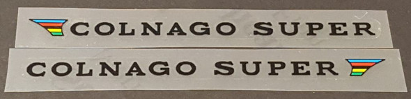 Colnago Super Stay Decals - 1 Pair - Choose Color