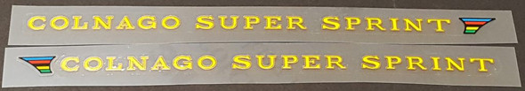 Colnago Super Sprint Stay Decals - 1 Pair - Choose Colors