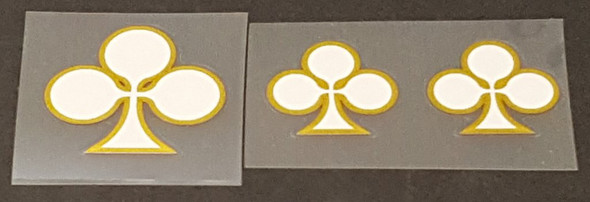 Colnago Clover Tubing Decals - Choose Colors