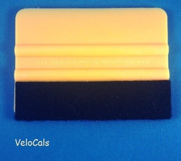 Squeegee with Felt-Wrapped Edge (sku 661)