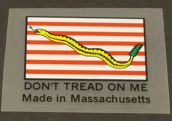 Fat Chance Seat Tube Decal - Made In Massachusetts - Black