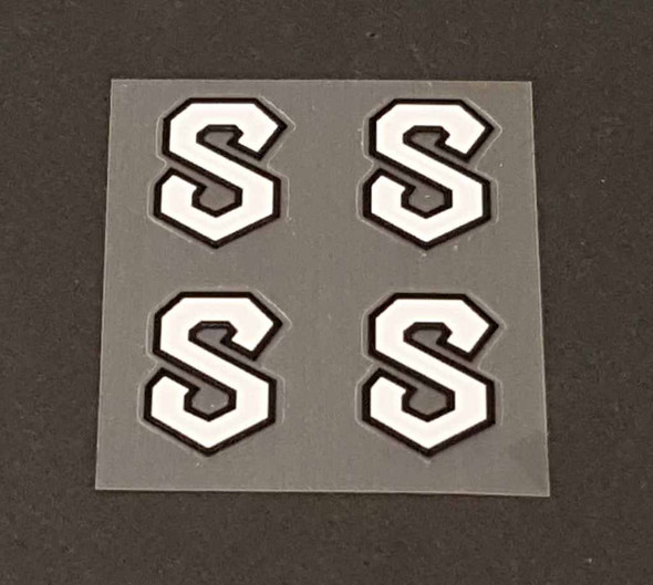 Serotta Fork & Miscellaneous Decals  - Set of 4 - Choose Colors