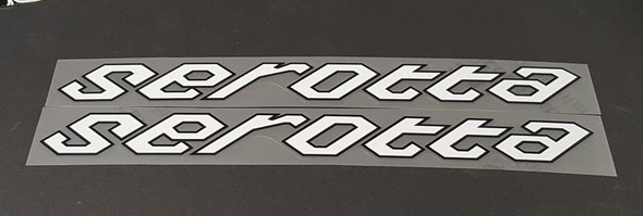 Serotta Stay Decals  - 1 Pair - Choose Colors