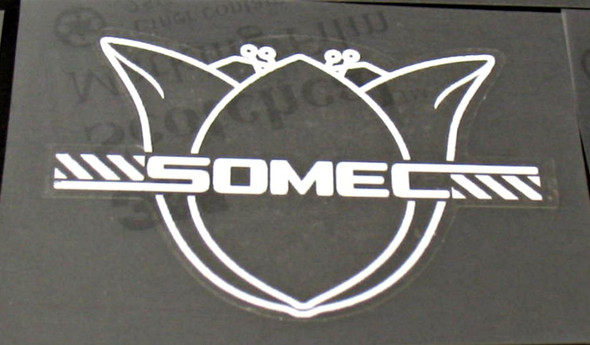 Somec Head Badge Decal - Choose Color/Size