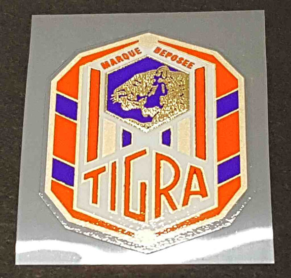 Tigra Vintage Head Badge Decal - Choose Colors