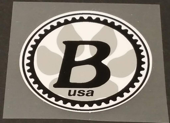 Bontrager USA Head Badge Decal - Colors/Size Options