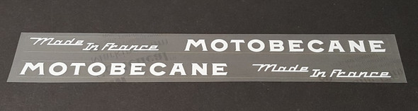 Motobecane Down Tube Decals - 1 Pair - Choose Color