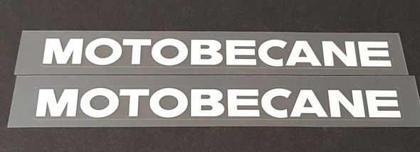 Motobecane Down Tube Decals (small)--1 Pair - Choose Color