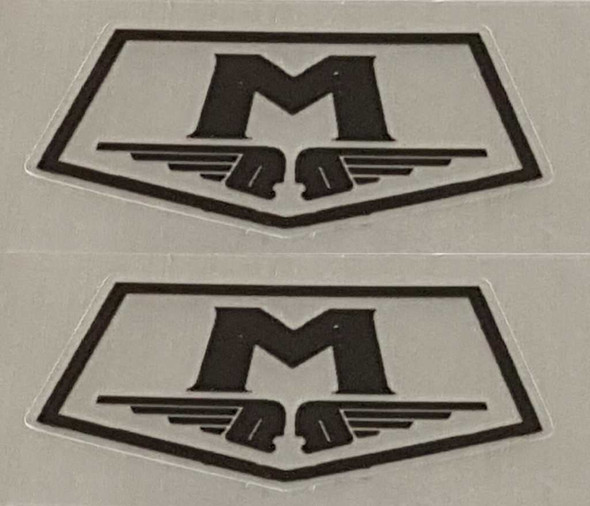 Motobecane Badge Decals - Choice of Color on Clear