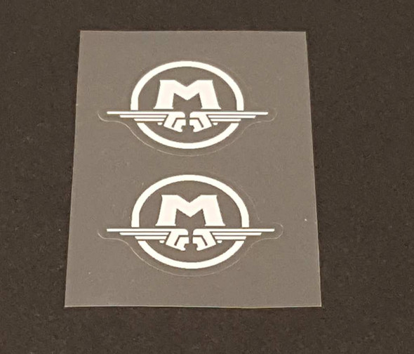 Motobecane Circle Fork Decals - 1 Pair - Choose Color