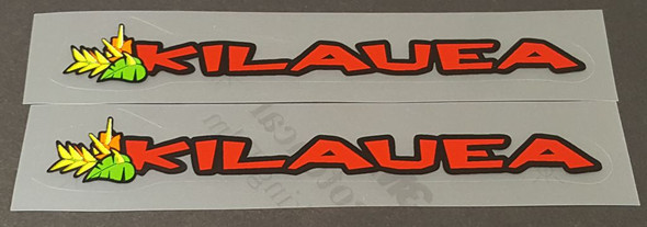 Kona 1997 Top Tube Decals - 1 Pair - Choose Model/Colors