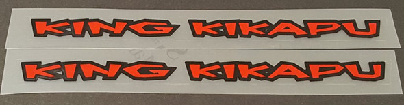Kona Top Tube Decals Small 9mm tall - 1 Pair - Choose  Model/Colors