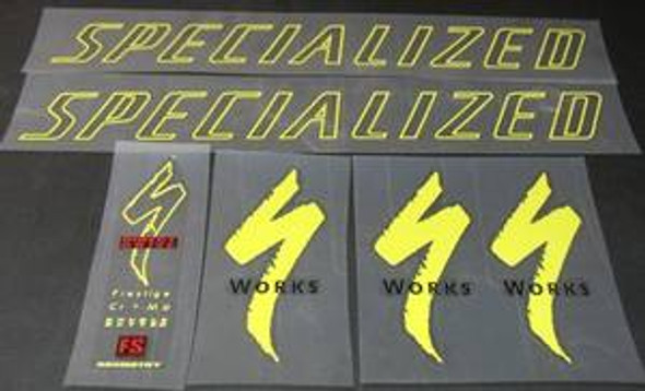 Specialized Bicycle Decal Set