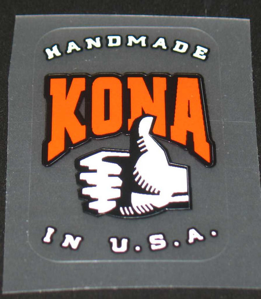 Kona Handmade in U.S.A. Decal