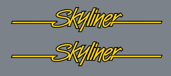 Ritchey Skyliner Top Tube Decals - 1 Pair - Choose Color