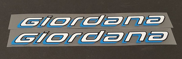 Giordana Seat Tube Decals - 1 Pair - Choose Colors