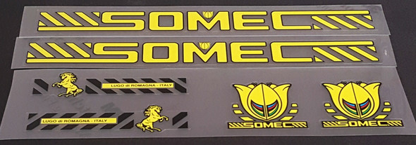 Somec Bicycle Decal Set