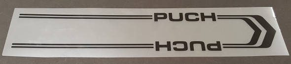Puch Down Tube  Panel Decal - Choose Color