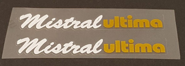 Puch Mistral Ultima Top Tube Decals - 1 Pair - Choose Colors