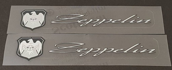 Airborne Zeppelin Top Tube Decals - Choose colors