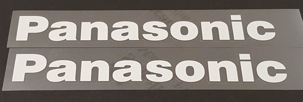 Panasonic Down Tube Decals - Choose Color