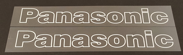 Panasonic Outline Down Tube Decals - Choose Color