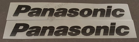 Panasonic Scored Down Tube Decals - Choose Color
