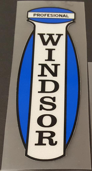Windsor Professional Seat Tube Decal