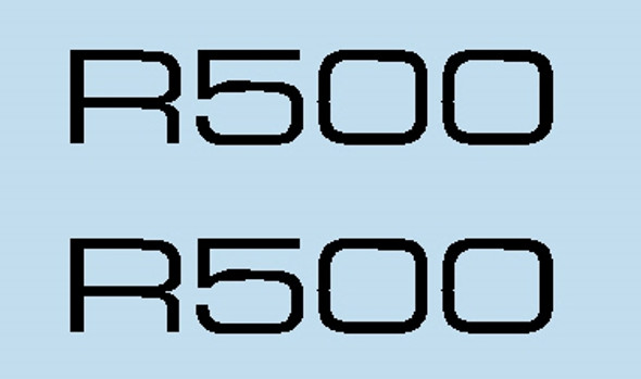 Cannondale R500 Top Tube Decals - 1 Pair - Choose Color