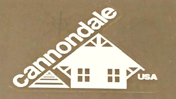 Cannondale Classic Head Badge Decal - Choose Color