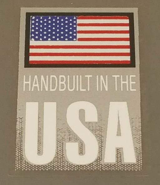 Cannondale Handbuilt in USA Decal - Choose Letter Color