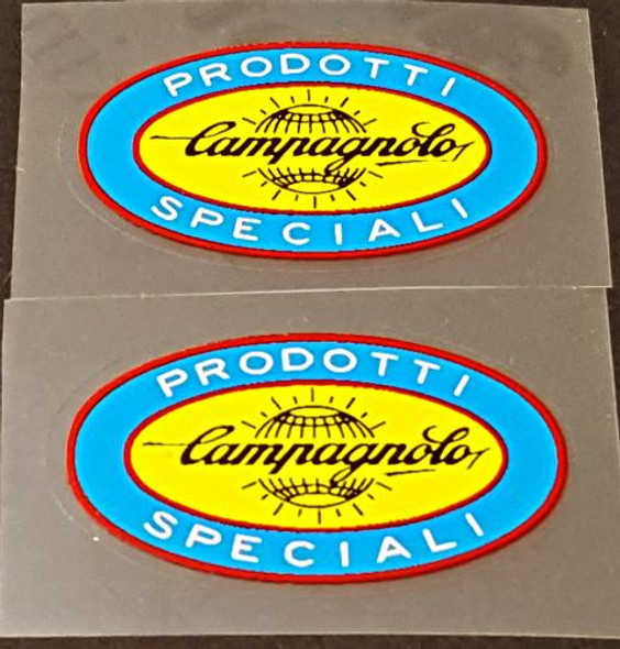 Campagnolo Oval Tubing Decals - 1 Pair